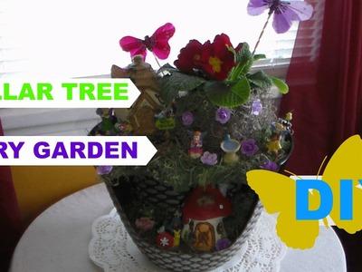 DIY Dollar Tree Fairy Garden