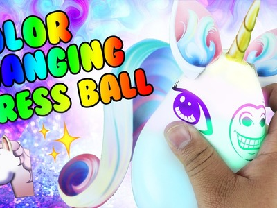 DIY | Light Up Unicorn Stress Ball - HOW TO MAKE A LIGHT UP STRESS BALL!!!