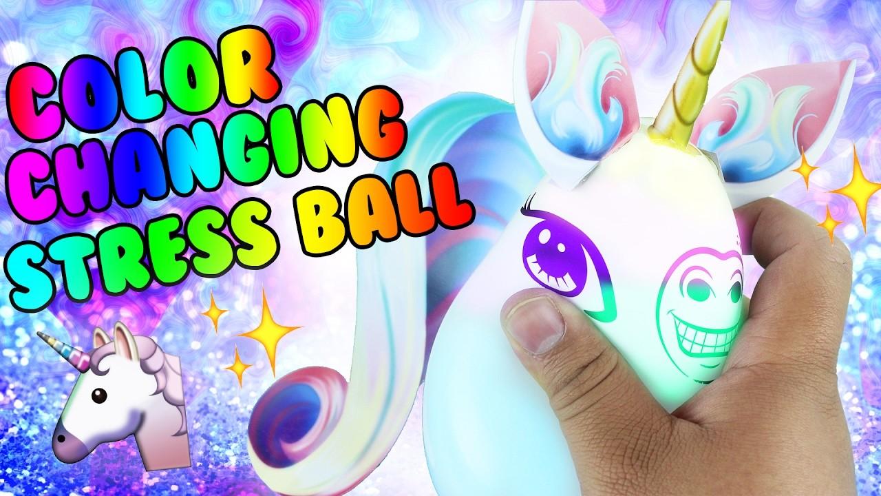 DIY   Light Up Unicorn Stress Ball - HOW TO MAKE A LIGHT UP STRESS BALL!!!