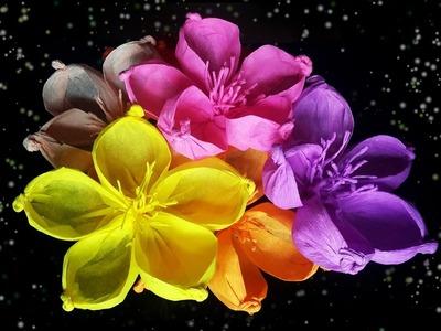 DIY Rounded-petal Paper Flower