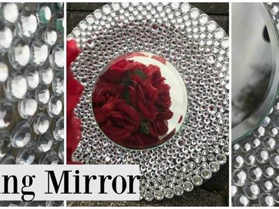 Dollar Tree DIY BLING Wedding Theme Mirror!