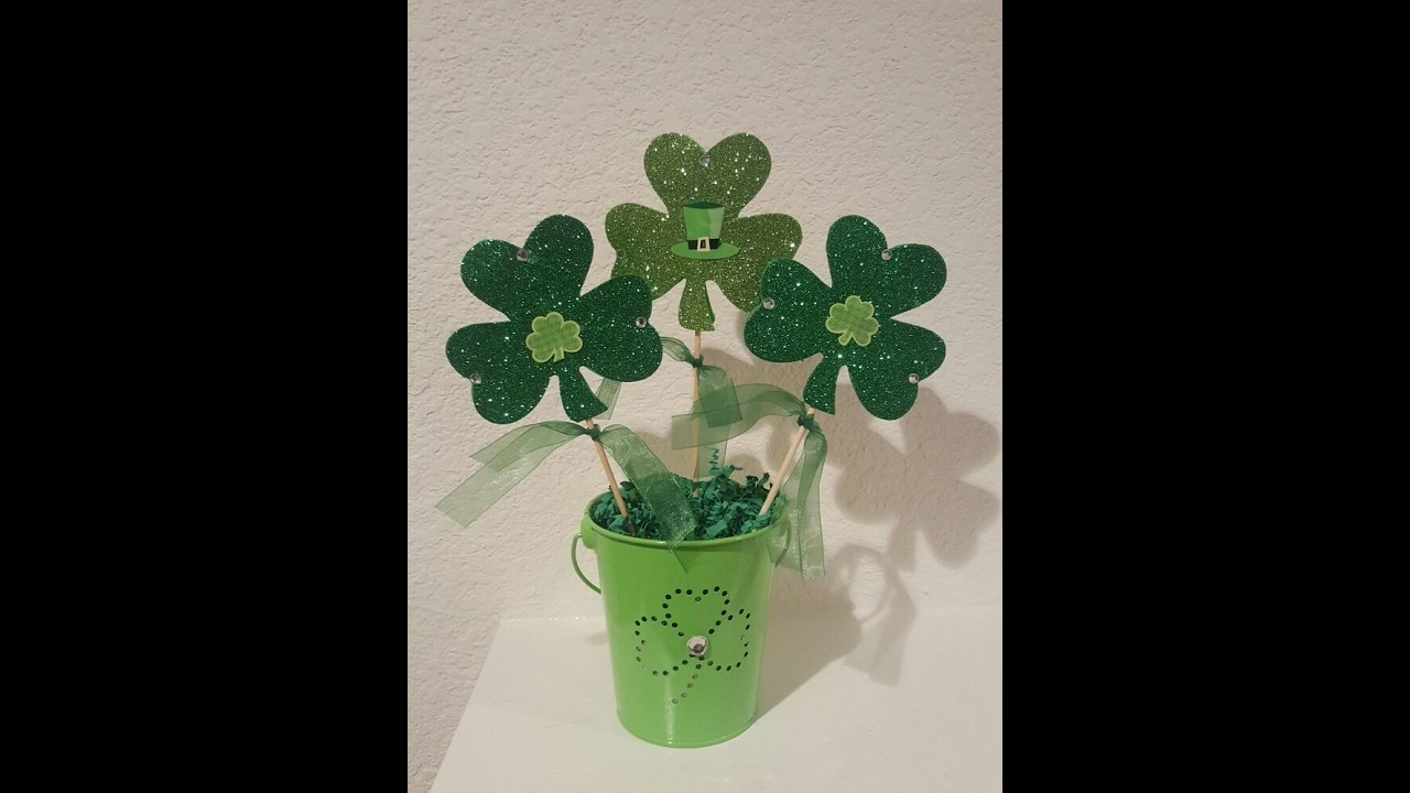 Easy and Cheap St  Patrick's Day DIY ( crafting for beginners)