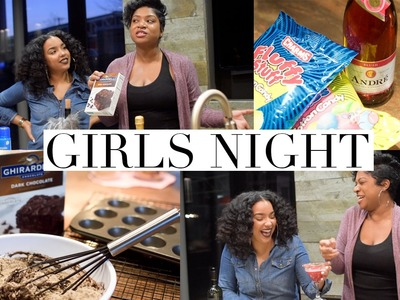 GIRLS NIGHT IN! Easy DIY Treats and Cocktails!