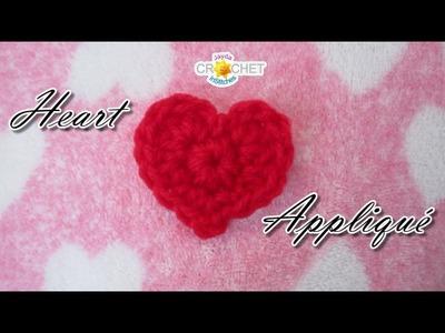 Heart Appliqué DIY - Happy Valentine's Day!