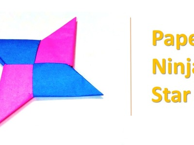 How to create a Paper Ninja Star Easy steps