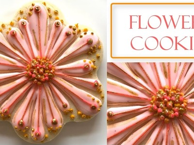 How to Decorate a Flower Cookie | Multi Petal Design
