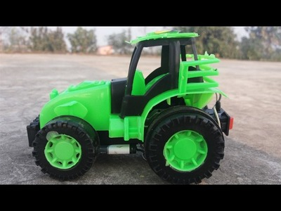 How to Make a Car (Electric Tractor) RC tractor Tutorial