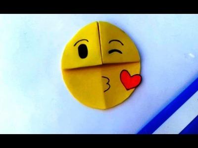 How to make a emoji || paper || origami