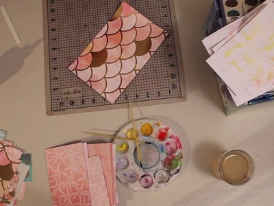 How to Make a Junk Journal | Junk Journal Tutorial Start to Finish | Water Color Junk Journal