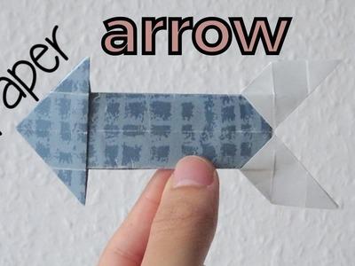 How to make a Paper Arrow   Origami Arrow