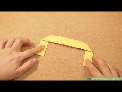 How To Make a Paper Gun That Shoots - Easy Tutorials