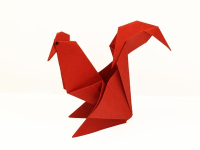 How to make a paper Rooster?