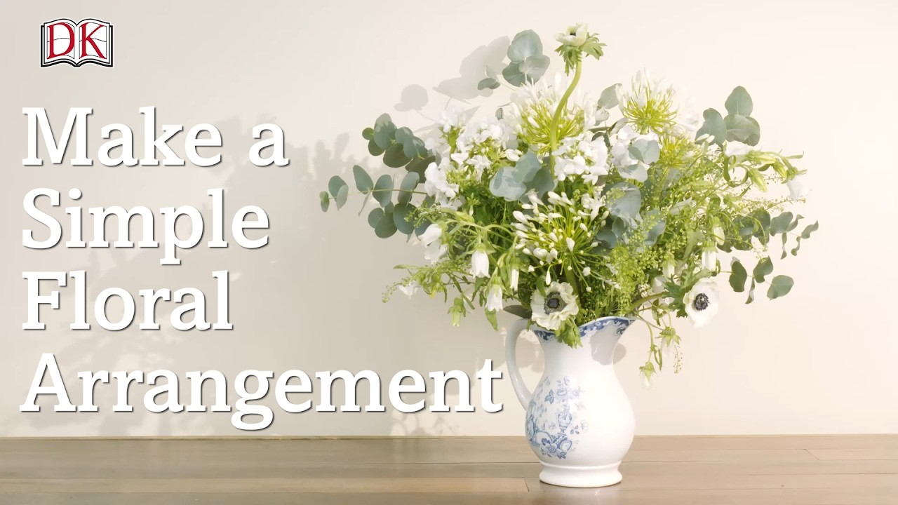 How to Make a Simple Floral Arrangement