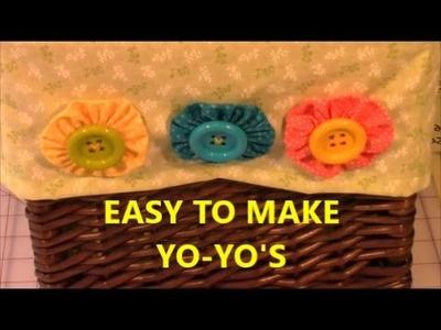 How To Make A Yo Yo