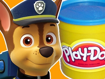 How To Make Chase from Paw Patrol from Play Doh ???????? Puppy Videos Set Egg Island | ???? Crafty Kids