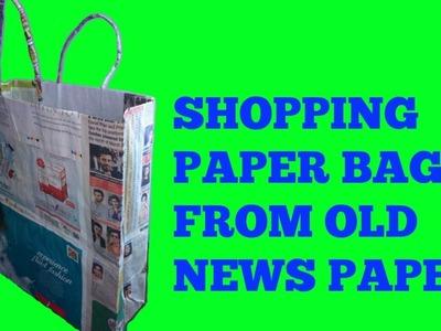 ## How To Make || DIY || Shoping || Paper || Bag ##