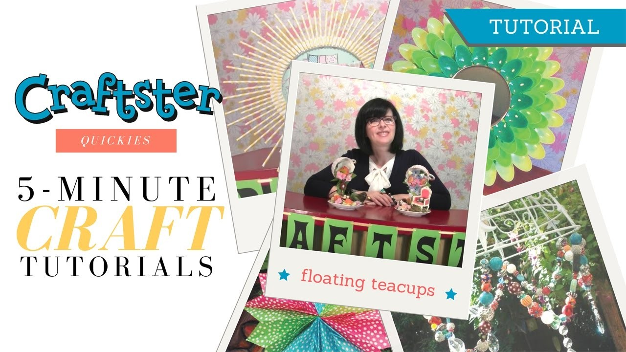 How to Make Floating Teacups
