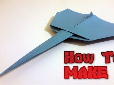 How to make paper plane - Jet Fighter (NEW)