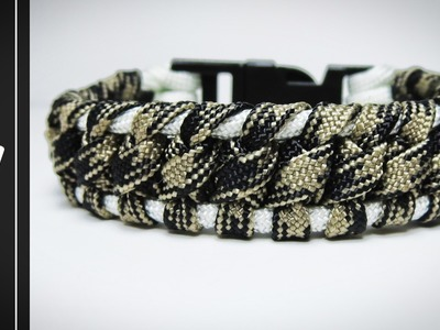 How to make The Javachip Paracord Survival Bracelet [UWA ORIGINAL] [Tutorial]