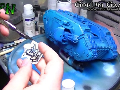 How to paint a graffiti Tank