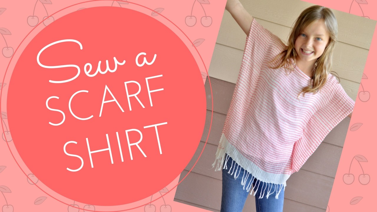 How to Sew A Scarf Shirt