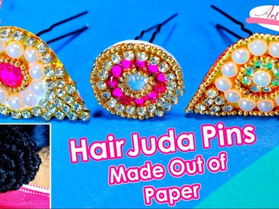 Paper juda pin.hair pins | Made up of paper | hair accessories | Artkala 105