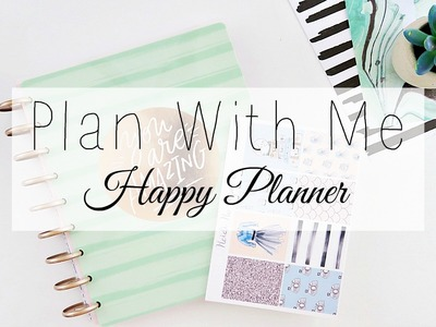 Plan With Me.Happy Planner. Ft. Heidi Ho Paper Co.