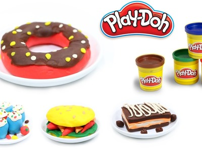 Play Doh Cake Maker Doughnutsdoh | How to make Doughnuts out of Play Doh