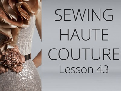 Premium Dress | How to sew Haute Couture Fashion Dress DIY #43