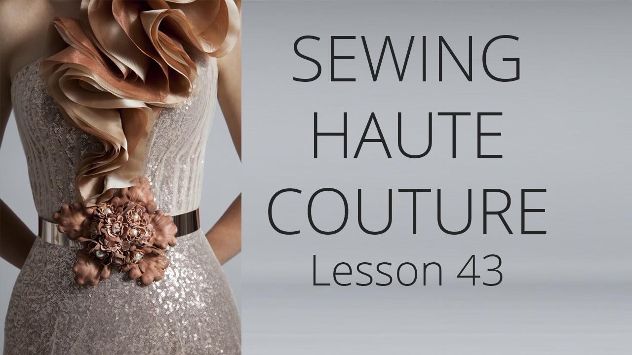 Premium Dress   How to sew Haute Couture Fashion Dress DIY #43