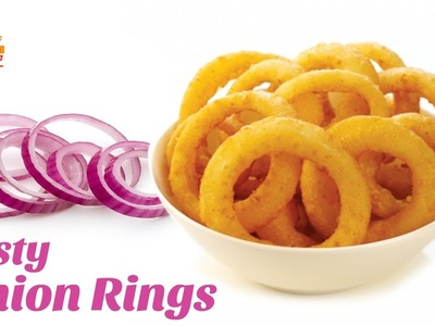 Tasty Onion Rings Recipe | Crispy Onion Rings | How to Make Onion Rings | Hyderabadi Ruchulu