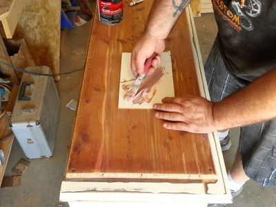 Best wood filler! For painted surfaces.