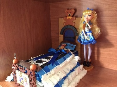 Blondie Lockes Doll Bed Remake [EVER AFTER HIGH]