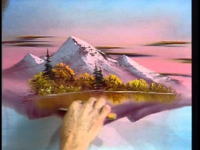Image result for scumbling trees and sky bob ross