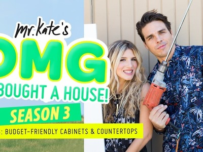 Budget-Friendly Cabinets & Countertops! | OMG We Bought A House!