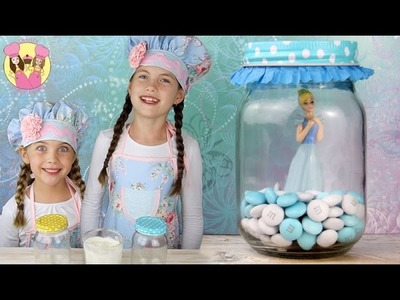 CINDERELLA PRINCESS BROWNIE JAR TREATS - inspired by the disney movie - kids how to baking