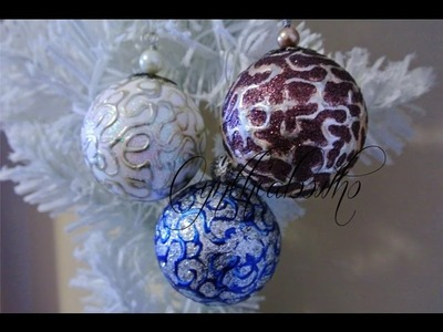 Day 7 of 10 Days of Christmas Ornaments with Cynthialoowho 2016