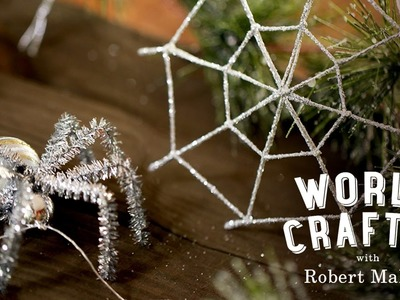 DIY Spider Christmas Tree Ornament | World Crafted