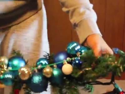 Do it yourself Christmas Garland (Easy & Cheap)