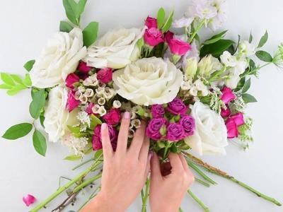 Flower Moxie Organic Bouquet   ~SUPER FAST TUTORIAL~