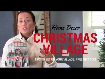 Home Decor | Christmas Village by Tori Toth