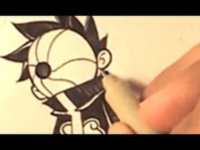 How I Draw episode 3: Chibi Tobi (Naruto)
