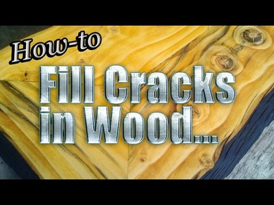 How-to Fill Cracks in Wood Live with Mitchell Dillman