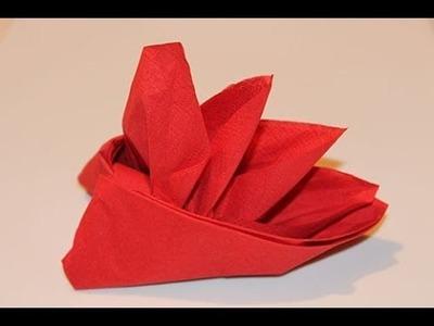 How to Fold Napkin - Bird Of Paradise
