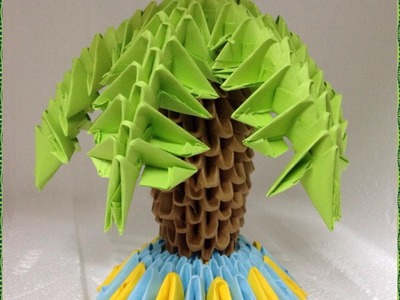 How to make a 3D Origami Palm (Tutorial)