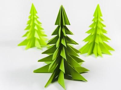 How to make a paper Christmas tree | DIY Xmas tree