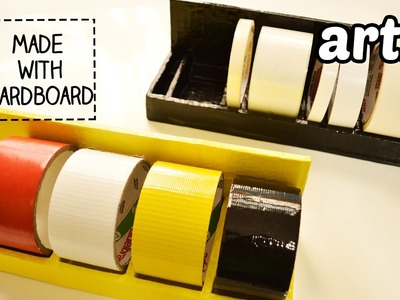How to Make a Tape Holder with Cardboard