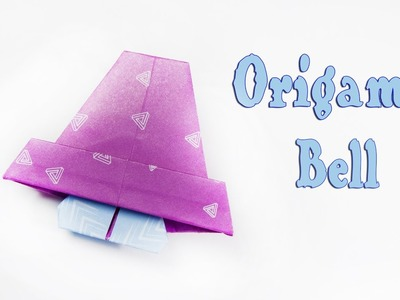 How to make an origami Christmas bell