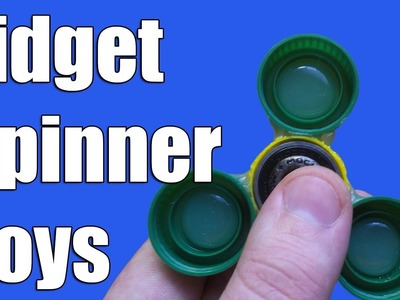 How to make - Fidget Spinner hands - Fidget toys