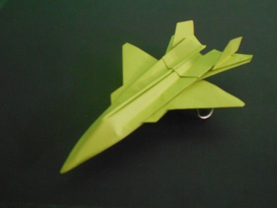 How to Make Paper Airplane | Easy Origami Jet Fighter that FLIES | F-15 Silent Eagle | Origami Paper